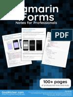 Xamarim -  Informs Notes for Professionals
