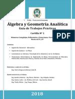 Algebra Modulo 1 2018