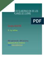 Procedimiento Plan Cierre Minas