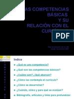 Las CCBB y su relación con el currículo