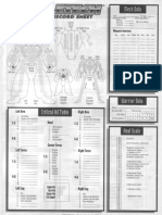 BattleTech 1604 - 4th Edition Boxed Set - Mech Sheets and Tables.pdf
