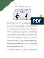 Diseño y Tecnología Del Trabajo