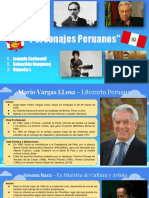 Personajes Peruanos Conocidos