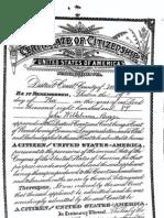 John W.  Bugge Citizenship