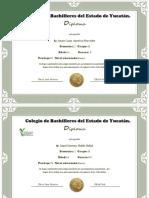 Diploma de Los 20 Participantes