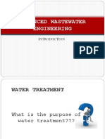 Advanced Wastewater Engineering (1)