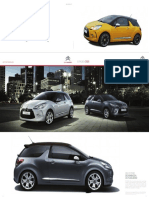 Catalogo Citroen DS3