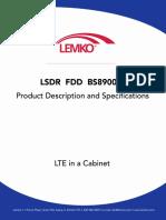 L3SDR FDD BS8900A Product Description