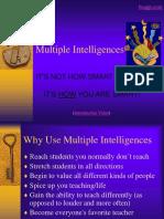 Multiple Intelligences Descriptions