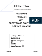 Electrolux Electronic Controled Freezer Service Manual 2007