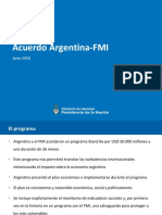 Acuerdo Argentina - FMI