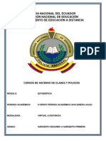 4. Módulo de Estadística SGOS.