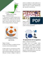 5 Reglas Del Futbol