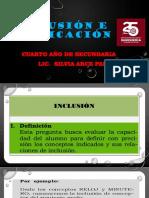 Inclusión-Implicación
