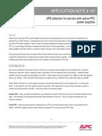 [Ups Nobreaks] Application Note - Pfc Power Supplies Rmuz-7dtkrc_r1_en