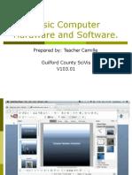 basiccomputerhardwareandsoftware-130623192335-phpapp01