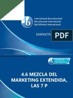 4 6 Mezcla Del Marketing Extendida Las 7 P
