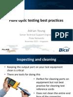 2.5 Fiber Test Best Practice - Fluke