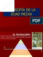 Filosofia de La Edad Medieval
