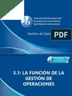 5 1 La Funci-n de La Gesti-n de Operaciones