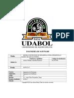 Modelo de Proceso de Desarrollo Dra