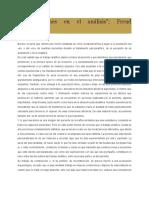 _Construcciones en El Análisis_; Freud (Resumen)