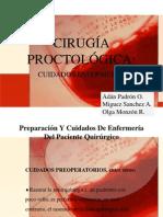 Cirugía .Proctológica