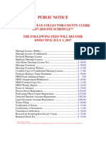 County Solano Clerk Fee Schedule TC.cc FEES 17.18
