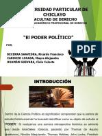 Exposición Poder Político