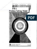 CAPRA Problem Solving Model Booklet - RCMP