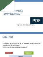 Empresa y Competitividad Empresarial