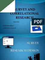 2. Survey and Correlational Week 2