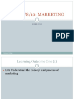 Marketing Essentials LO1 Lession 1