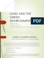 Land and the Green Environment
