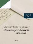 Correspondencia 1930-1949 - Martin Heidegger & Fritz Heidegger