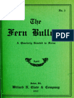 The Fern Bulletin, April 1912 by Various