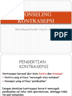 DINA Konseling Kontrasepsi