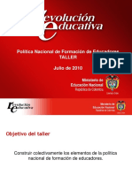 1.Política Nacional de Formación de Educadores (2)