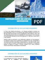 Distribución de Los Glaciares Modernos
