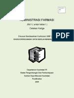 Administrasi Farmasi Jilid 1