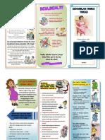 Leaflet Risiko Tinggi Kehamilan