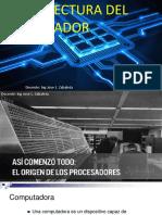 1 Arquitectura Del Procesador