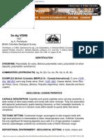 Tin Silver Veins - Mineral Deposit Profiles, B.C. Geological Survey