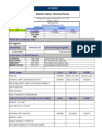 03 - Sea Time - Resume - Form
