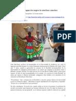 En Cartagena Los Negros Le Estorban a Muchos