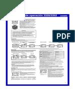 Manual Casio 3352