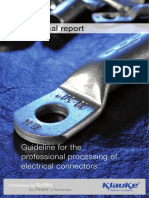Guideline for the Professional Processing of Electrical Connectors Compressed