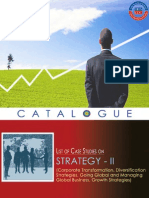 Strategy Case Studies(Catalogue II)