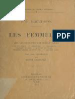 Les Femmelins, de Proudhon