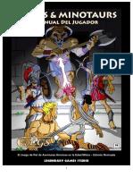 Mazes & Minotaurs - Guia Del Jugador
